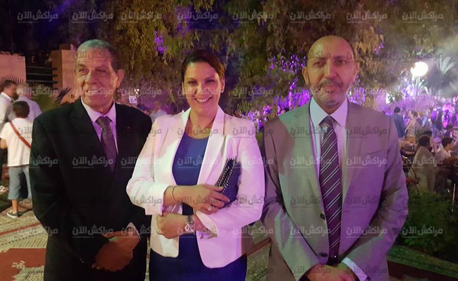 عمداء مراكش بلقايد والمنصوري والجزولي في احتفالات فرنسا بعيدها الوطني