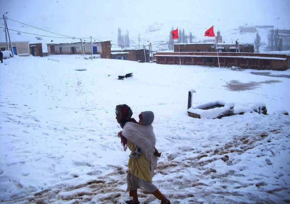 بولمان: السلطات الاقليمية تتعبأ من أجل التخفيف من آثار البرد
