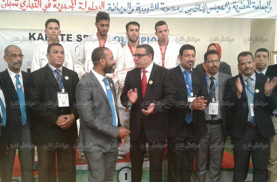 انطلاق مسابقات التباري المؤهلة للبطولة الوطنية للكراطي بالقاعة المغطاة شيشاوة