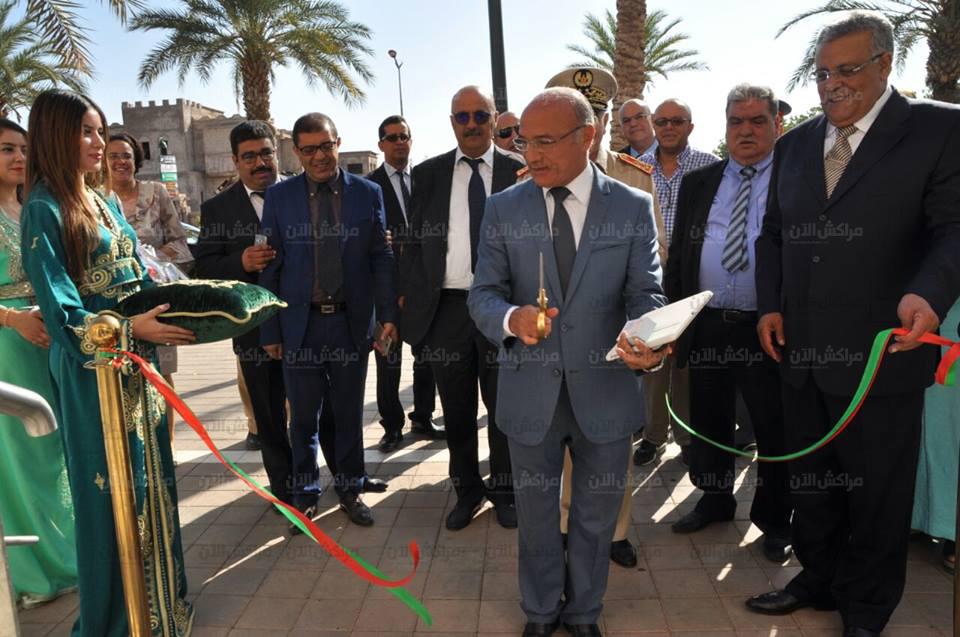 بالصور..البجيوي والي جهة مراكش اسفي يدشن المستشفى الخاص لمراكش