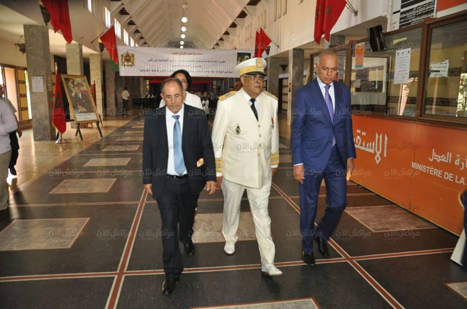 بالصور..مشاهد من حفل الهيئة القضائية بمناسبة عيد العرش بمقر محكمة الاستئناف بمراكش