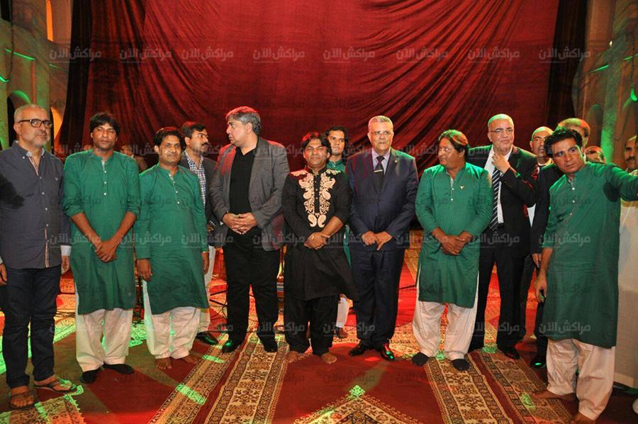 البجيوي والي مراكش يشارك باحتفالات الذكرى 70 لاستقلال باكستان ويحضر رفقة سفيرها احتفالات مراكشيين بعيد الشباب