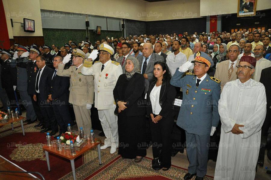 بالصور.. كواليس الاستماع الى الخطاب الملكي لثورة الملك والشعب بولاية جهة مراكش