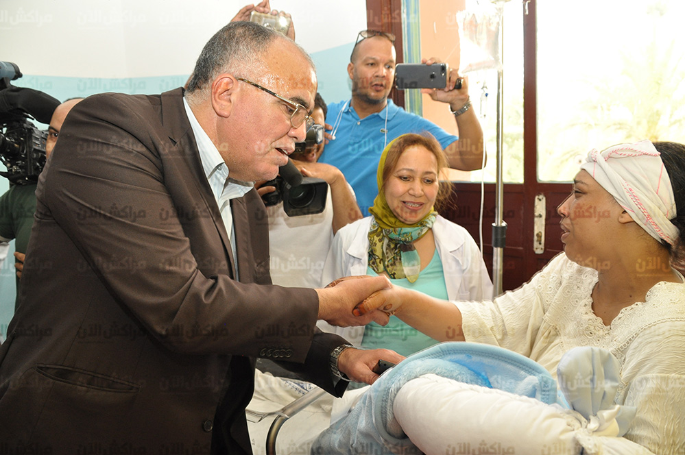 بالصور..تفاصيل نجاح امن مراكش في اعادة الرضيع المسروق الى والدته بمستشفى ابن طفيل
