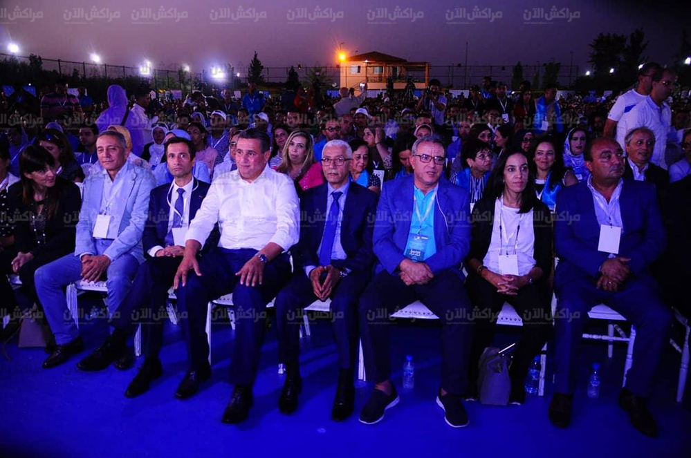 """وزراء وقيادات حزب """"الحمامة"""" تشارك باشغال النسخة الثانية لجامعة شباب الأحرار بمراكش +صور"""