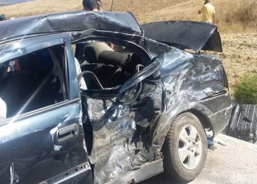حادثة سير سببها عدة سيارات يخلف إصابة سائقين بجروح بليغة بجماعة كماسة