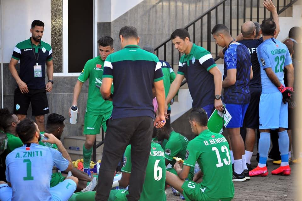 الرجاء البيضاوي يرسل ملف قضية مباراة مازيمبي للكاف