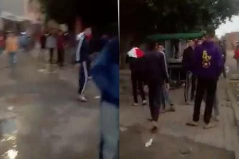 استهتار.. شريط فيديو لمراهقين بحومة شعبية يتعنتون بخرقهم لحالة الطوارئ يشعل غضب المراكشيين  +صور