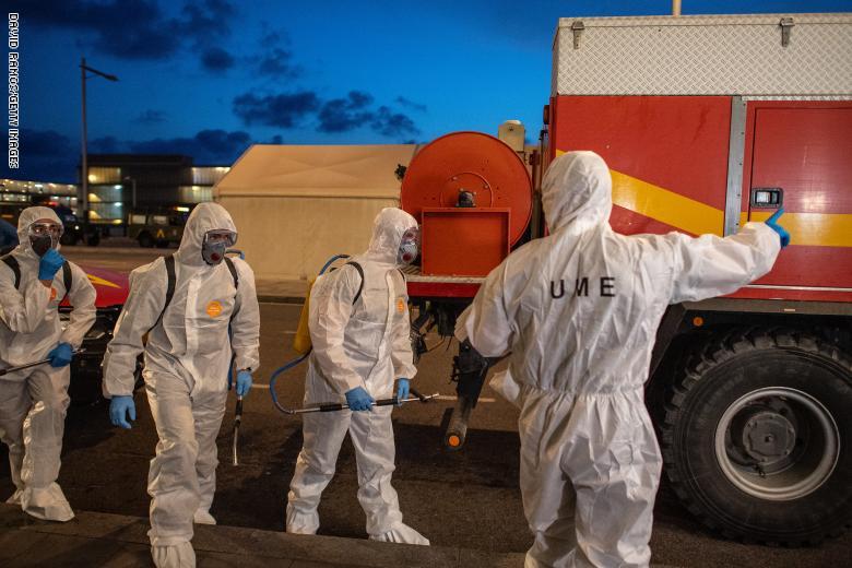 إسبانيا: عدد الوفيات بفيروس كورونا يتعدى عتبة 10 آلاف شخص