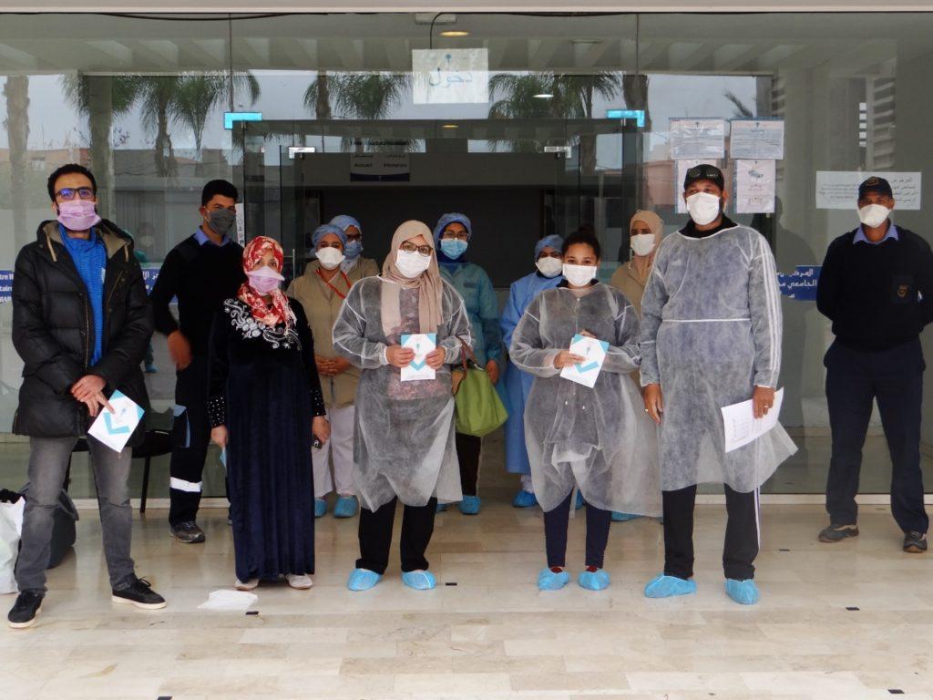أربع حالات شفاء جديدة بمستشفى الرازي بمراكش ترفع الحصيلة الإجمالية إلى 425