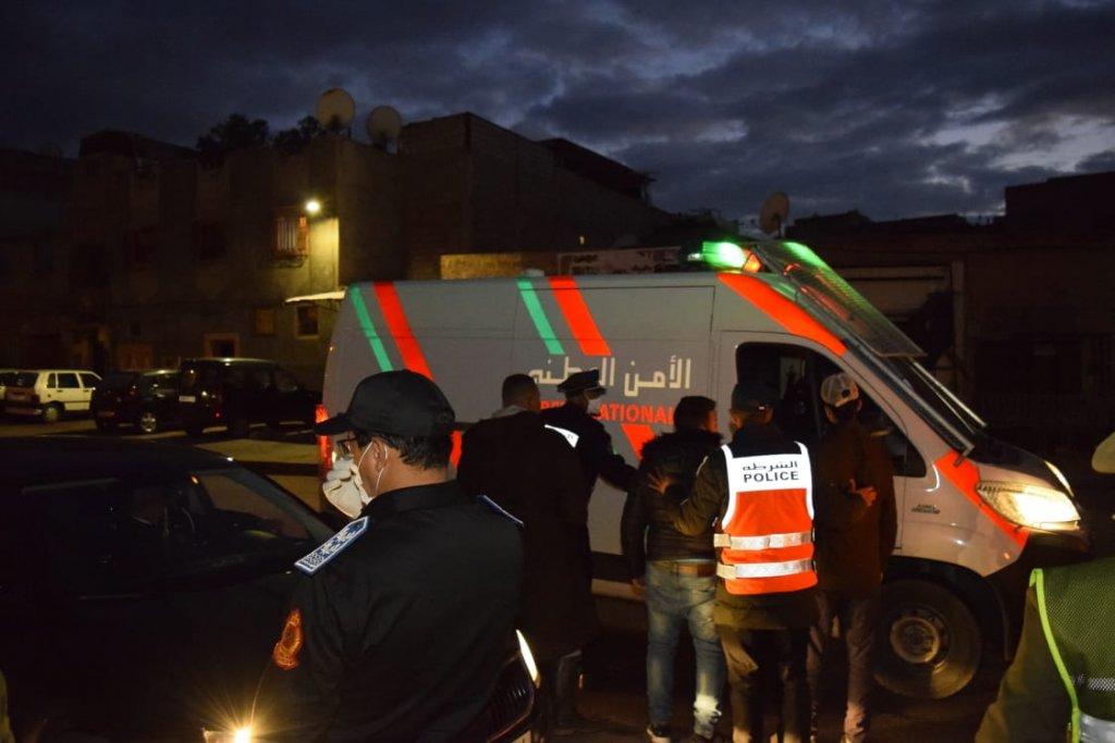 اعتقال ثلاثة أشخاص بشيشاوة بتهمة الاخلال بقانون حالة الطوارئ الصحية