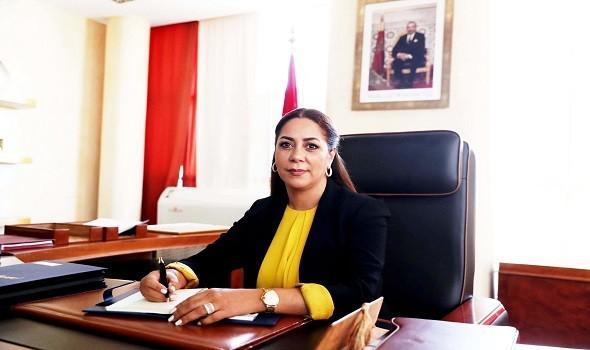 """إعادة الإطلاق التدريجي لأوراش البناء محور اجتماع الوزيرة بوشارب مع مجموعة """"العمران"""""""