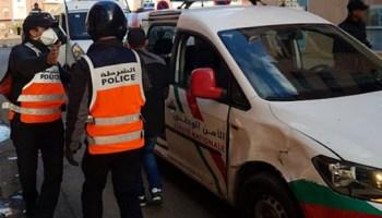 أمن مراكش يعتقل شخصا هشم واجهات سيارات بحي المحاميد