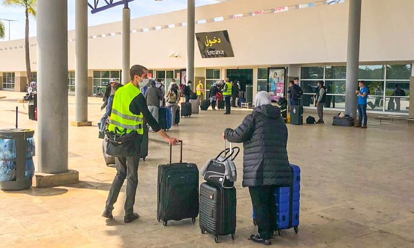 المغاربة العالقون بالخارج.. وصول أزيد من 300 مواطن مغربي عائدا من كندا إلى مطار أكادير المسيرة