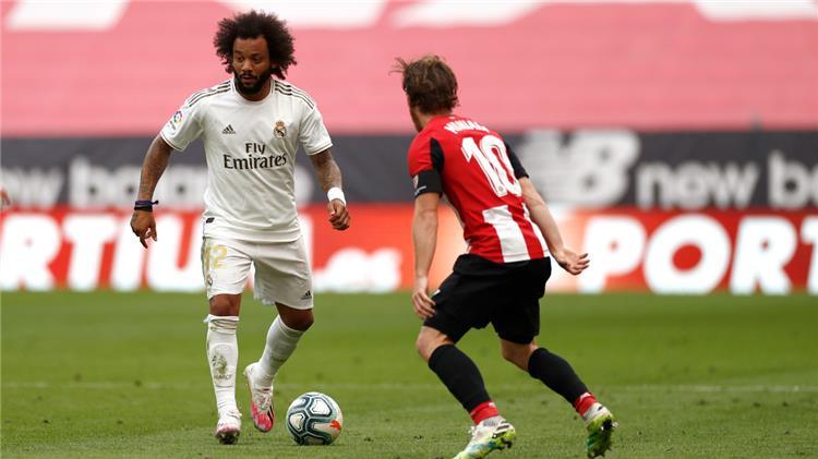 راموس يمنح الريال فوزا مهما على اتلتيك بلباو ويستمر في صدارة البطولة الاسبانية