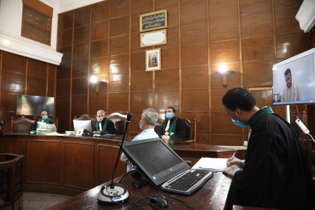 المحاكمة عن بعد.. عقد 331 جلسة أدرجت خلالها 6421 قضية واستفاد منها 7457 معتقلا
