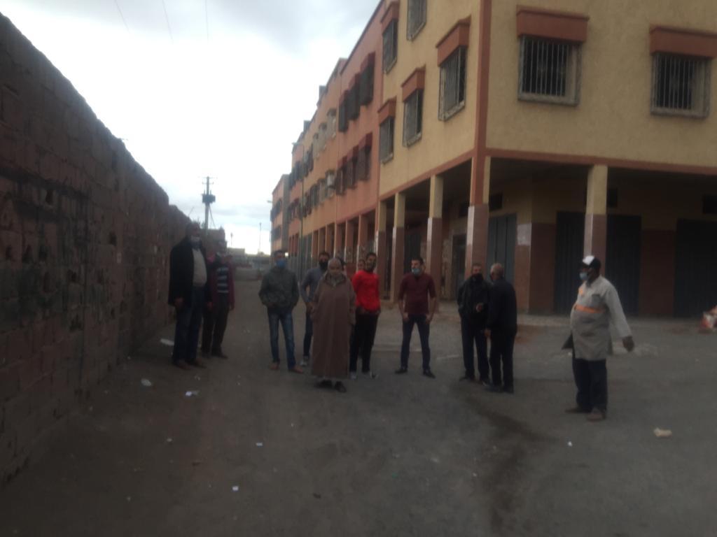 """ساكنة تجزئة """"برادي 3"""" تطالب بفك العزلة وتراسل والي مراكش +صور"""