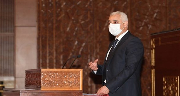 الوزير آيت الطالب يعلن عن وضع استراتيجية وطنية للتلقيح ضد فيروس كورونا المستجد