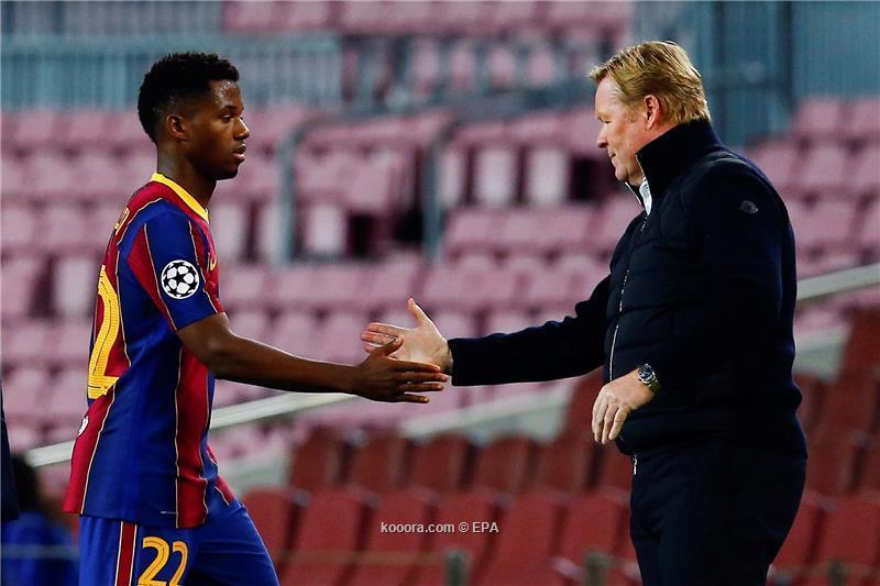 نادي برشلونة يدخل في خلاف قانوني مع لاعبه فاتي