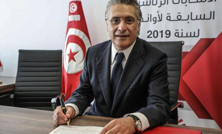 """تونس.. قرار بالإفراج """"المؤقت"""" عن نبيل القروي بعد قضائه شهرين في السجن"""