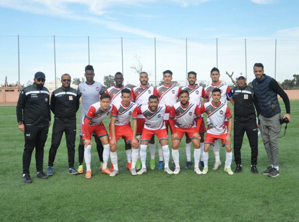 فريق الوداد الرياضي السرغيني لكرة القدم يفوز على شباب ريف الحسيمة ويقترب من صدارة الترتيب