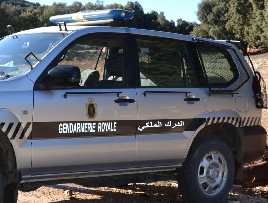 درك سطات يوقف سيارة محملة بالمخدرات