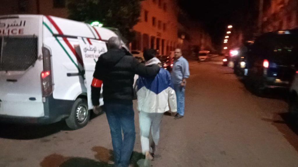 أمن مراكش يواصل اعتقال مخالفي قرار حظر التنقل الليلي