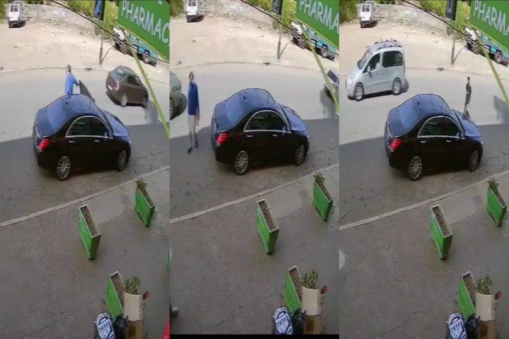 فيديو.. لص محترف يسرق هاتف نقال من سيارة مستثمر فرنسي مقيم بمراكش