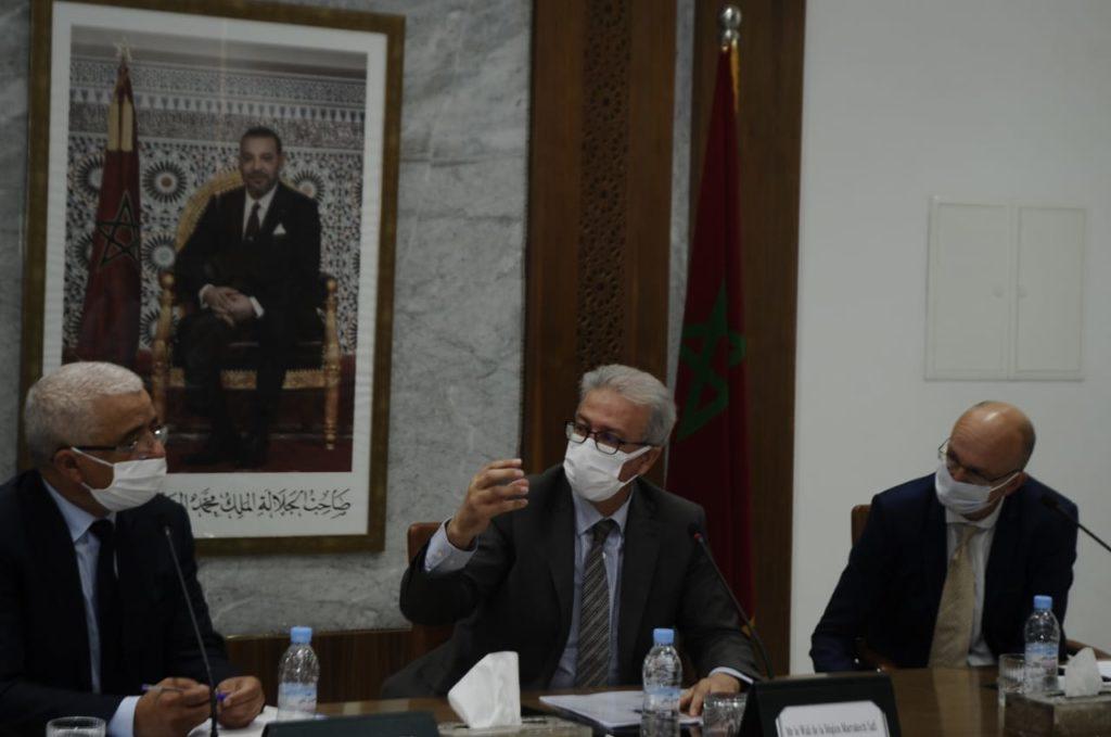 والي جهة مراكش يتتبع وضعية تنفيذ مشروع دعم الاندماج الاقتصادي لشباب بجهة مراكش اسفي + صور