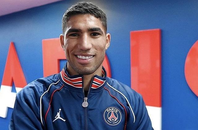 حكيمي يعلق على هدفه الأول مع باريس سان جيرمان