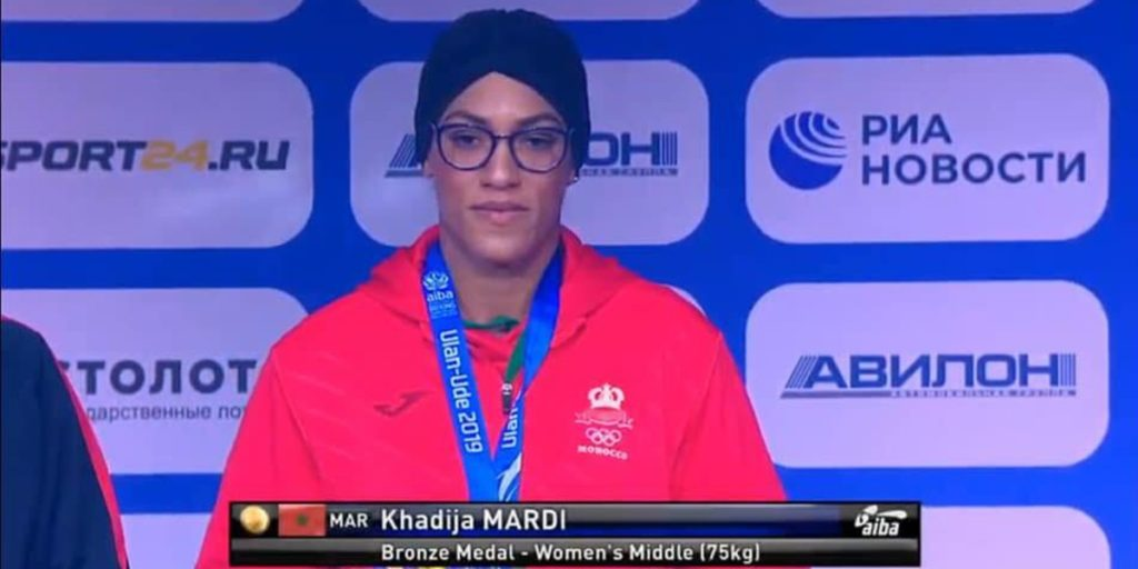 المغرب يخسر جهود الملاكمة خديجة المرضي في أولمبياد طوكيو