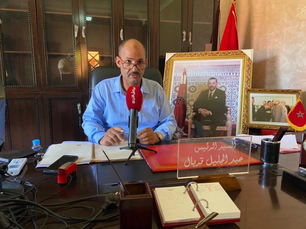 عبد الجليل قربال رئيس جماعة تامصلوحت: هدفنا هو استكمال المشاريع التي بدأنها خلال الولاية السابقة بهدف النهوض بجماعة تامصلوحت +فيديو
