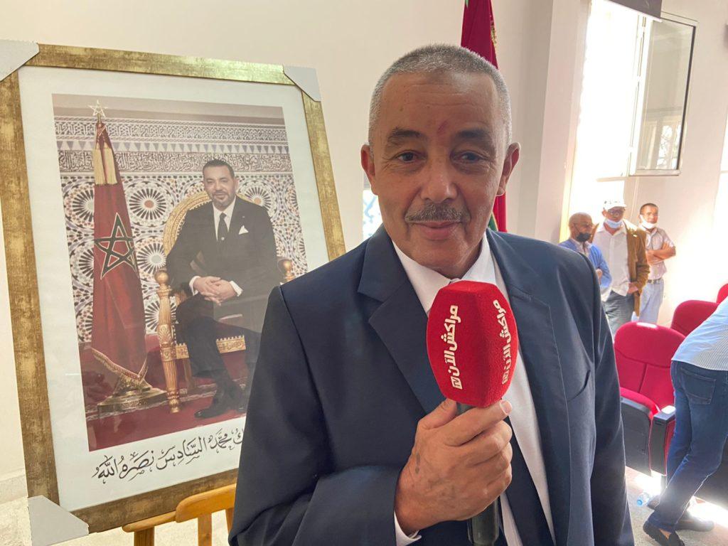 الحسن المنادي رئيس مجلس مقاطعة النخيل: نرحب بجميع اقتراحات الساكنة منطقة النخيل +فيديو