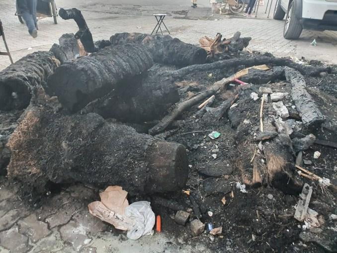 امن مراكش يوقف مخمور تسبب في اندلاع حريق بصيدلية