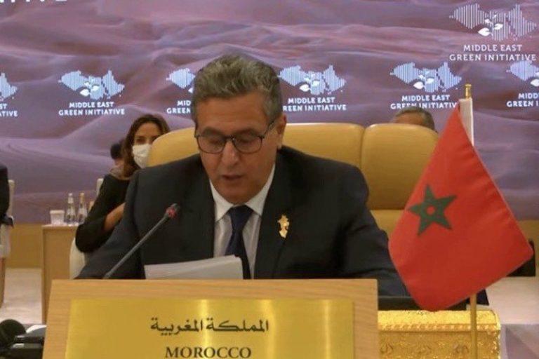 أخنوش يؤكد من السعودية على ضرورة تعزيز التعاون الإقليمي بشأن القضايا المتعلقة بالتغير المناخي