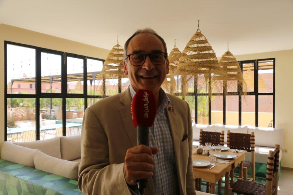 السفير البريطاني بالمغرب سيمون مارتن: تفاجأت بالتطور الذي وصلت له جمعية النخيل في مجال حماية المرأة +فيديو