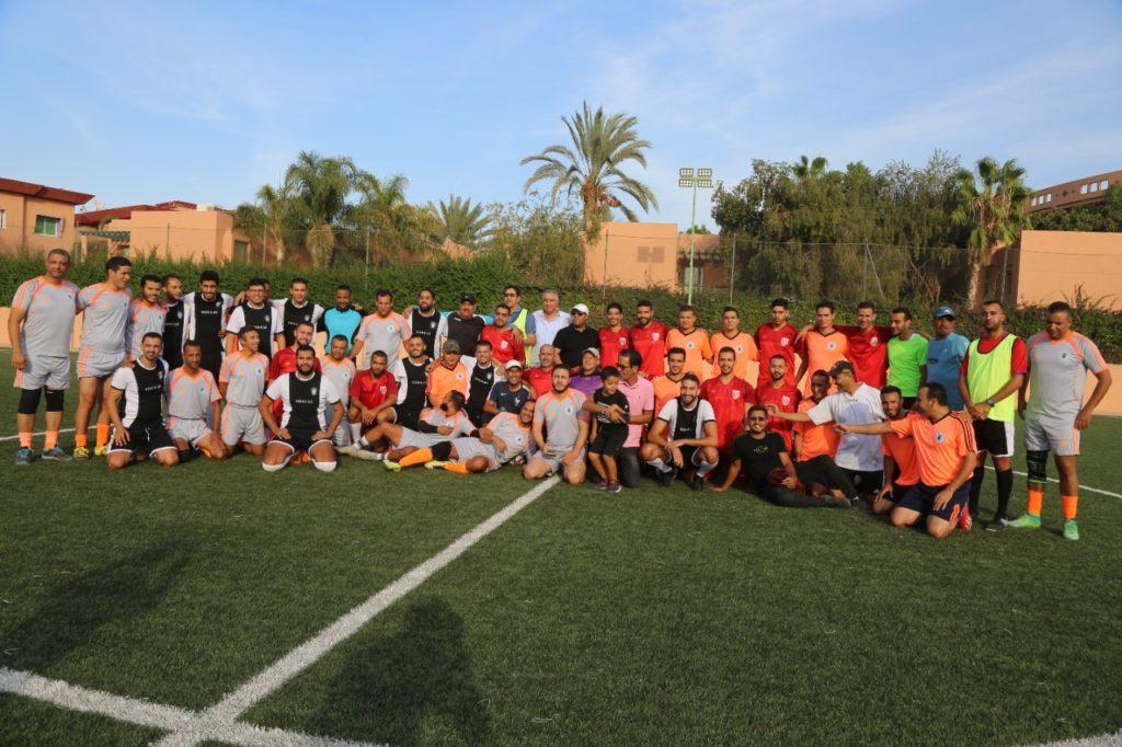 """فريق """"casa A"""" يعيد احياء دوري الصداقة للمحامين لكرة القدم المصغرة من مراكش +صور وفيديو"""